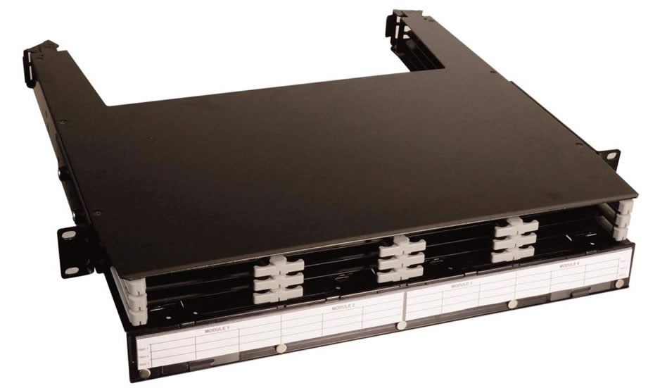 Base 12 LightStack Ultra High Density Fiber Enclosures