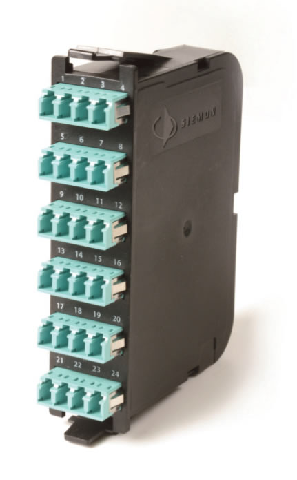 Base 12 RIC/SWIC3/FCP3 Fiber Plug and Play Modules