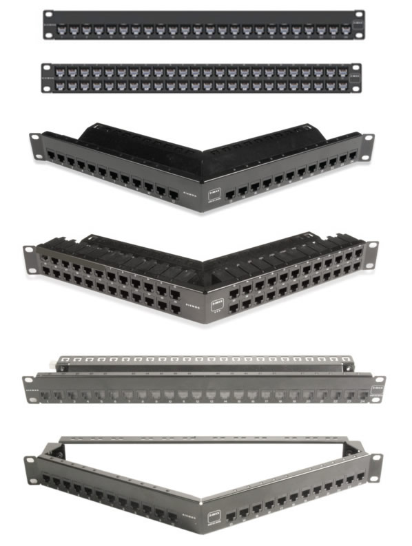 Z-MAX 5e Shielded Patch Panels