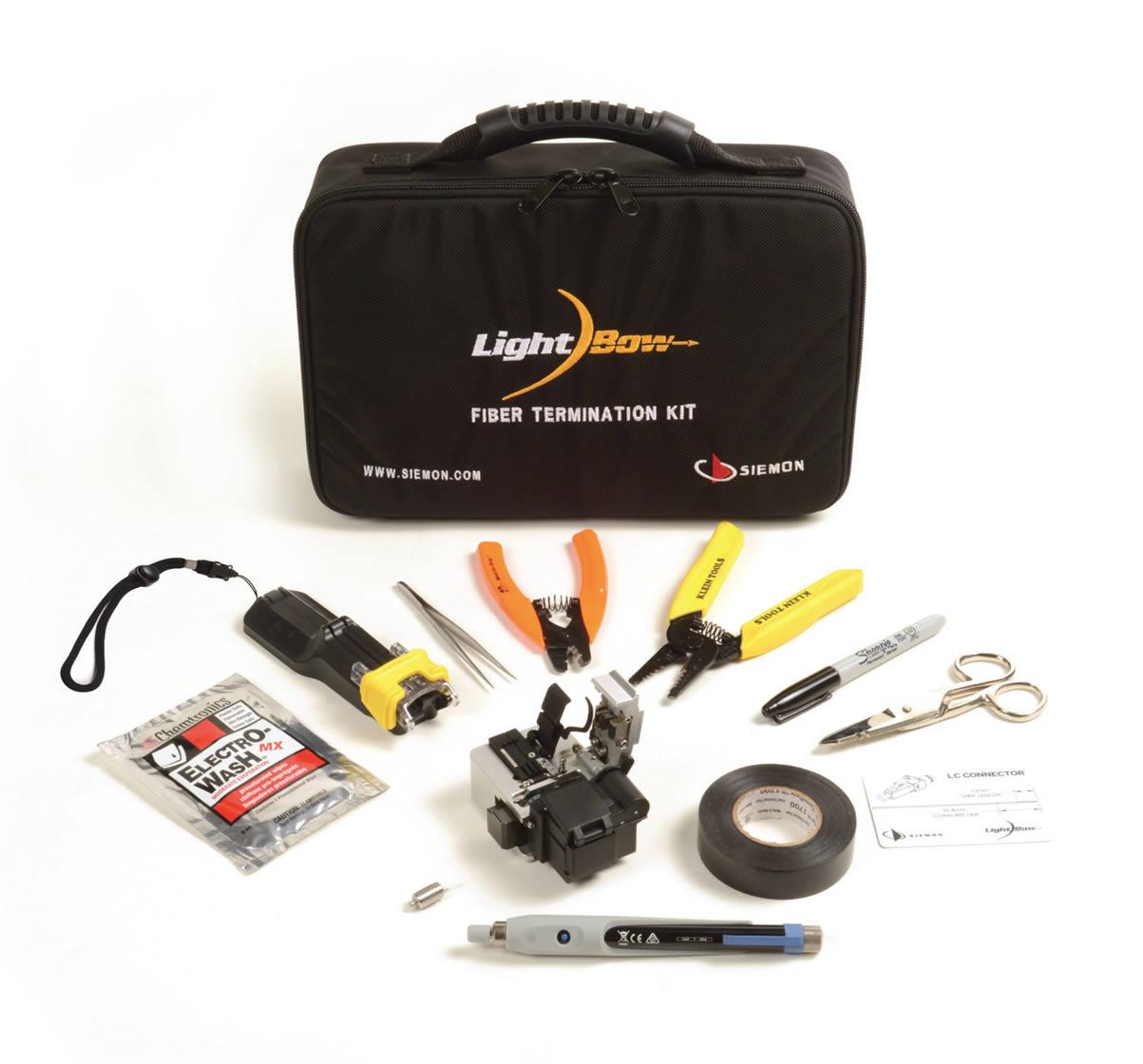 LightBow Fiber Termination Kit