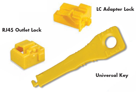 LockIT Outlet Lock / LC Adapter Lock